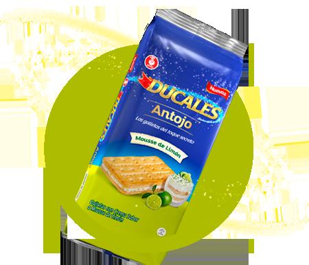 Producto Galletas mousse de limón
